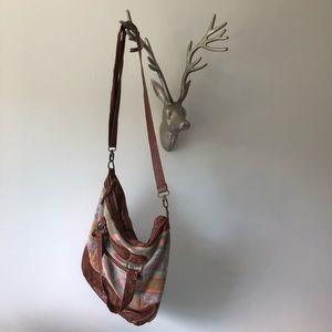 Bohemian crossbody bag / hobo bag